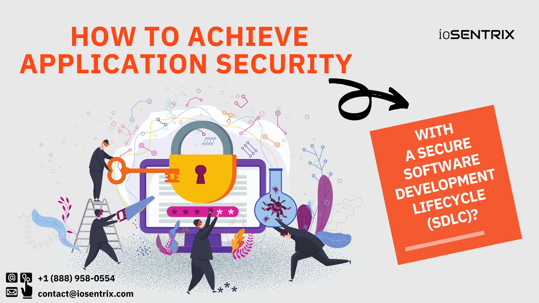 How to achieve application security with a secure software development lifecycle (SDLC)?